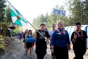 Maahiset oli vuonna 2012 mukana Pääkaupnkiseudun Partiolaisten yhteisellä leirillä Hämeenlinnassa. Paikalla oli noin 4500 partiolaista.